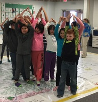 Giant Colorado Map Visits Holyoke Elem